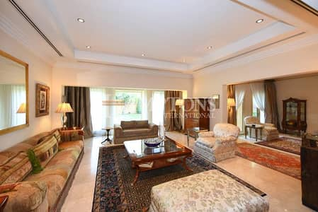 5 Bedroom Villa for Sale in The Lakes, Dubai - Classical 5BR + M | Landscaped | Lake View
