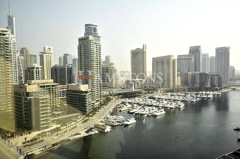 Marina View | Vacant 1BR | Mid Floor