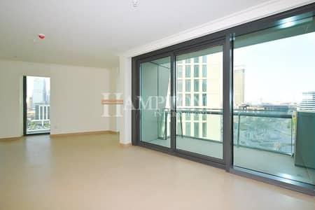 3 Bedroom Apartment for Sale in Downtown Dubai, Dubai - Low Floor | 3BR + Maid in Burj Vista T2
