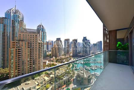 1 Bedroom Apartment for Sale in Dubai Marina, Dubai - Rare Largest Layout | Marina View | Vacant