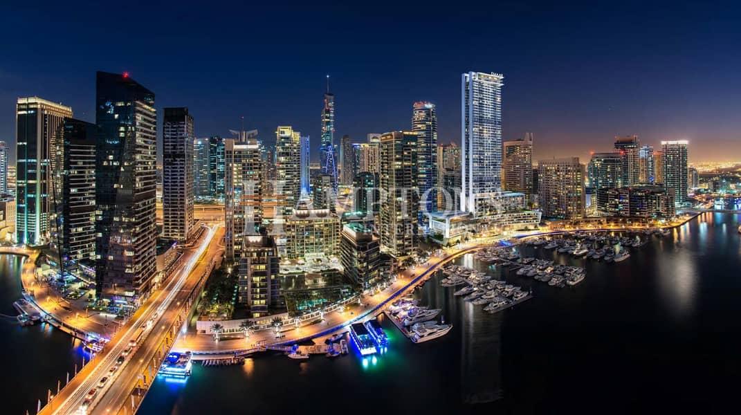2 Full Marina View | High Floor 3BR