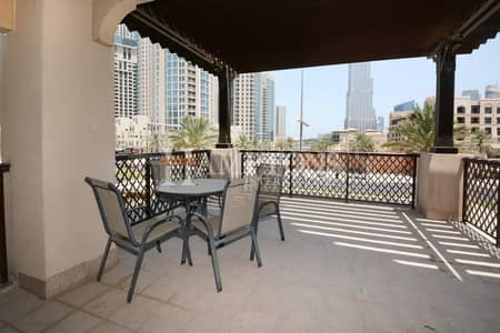 2 Bedroom Flat for Rent in Old Town, Dubai - Large   Fully Furnished  2BR in Zaffaran 3