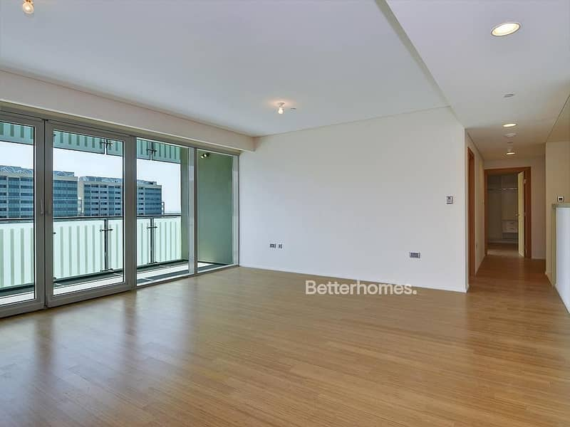 2 Road view 3BR with balcony in Al Muneera