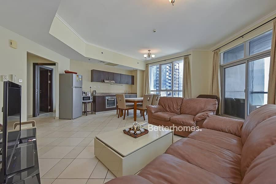 2 2BR|Higher Floor|Partial Sea View|Vacant