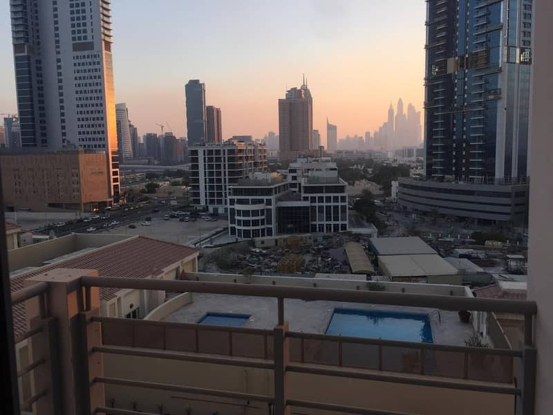 Al Sufouh Studio For Rent with Marina View