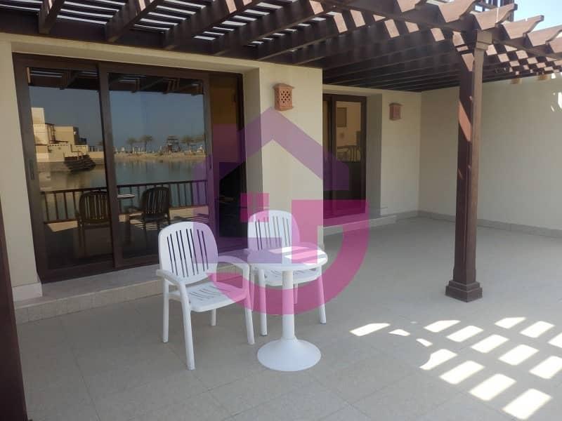 12 Stunning one bedroom waterfront villa  beautiful sea views