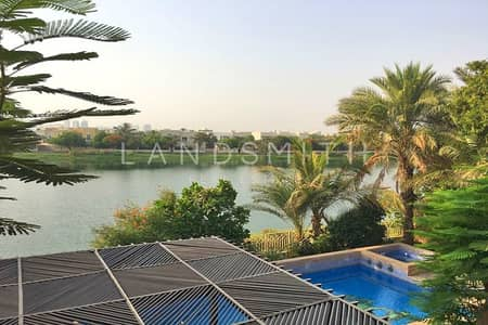 6 Bedroom Villa for Sale in The Meadows, Dubai - Upgraded 6 Bed Hattan L2 Lake View Villa
