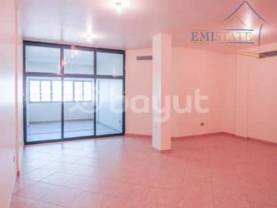 3 Bedroom Apartment for Rent in Al Khalidiyah, Abu Dhabi - 1 Month Rent-Free Below Market Price Large 3BR + M with Balcony Partial Sea View