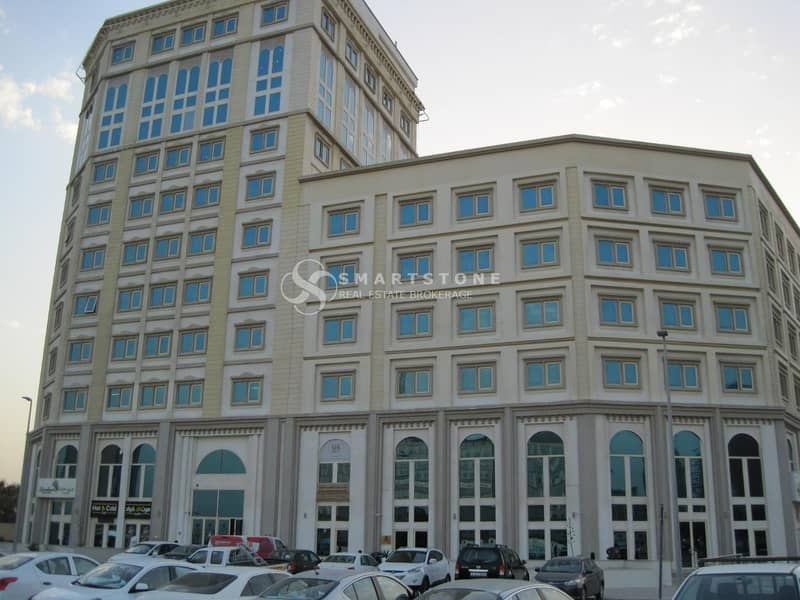 15 SPACIOUS FITTED OFFICE SPACE IN ARJAN FOR AED 39K
