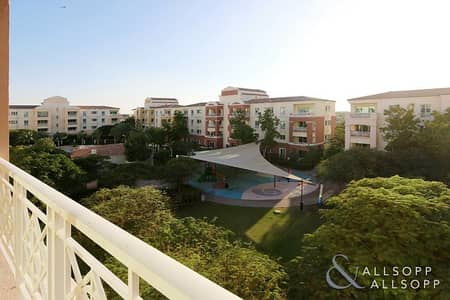 1 Bedroom Flat for Rent in Green Community, Dubai - Best Panoramic Garden View | One Bedroom
