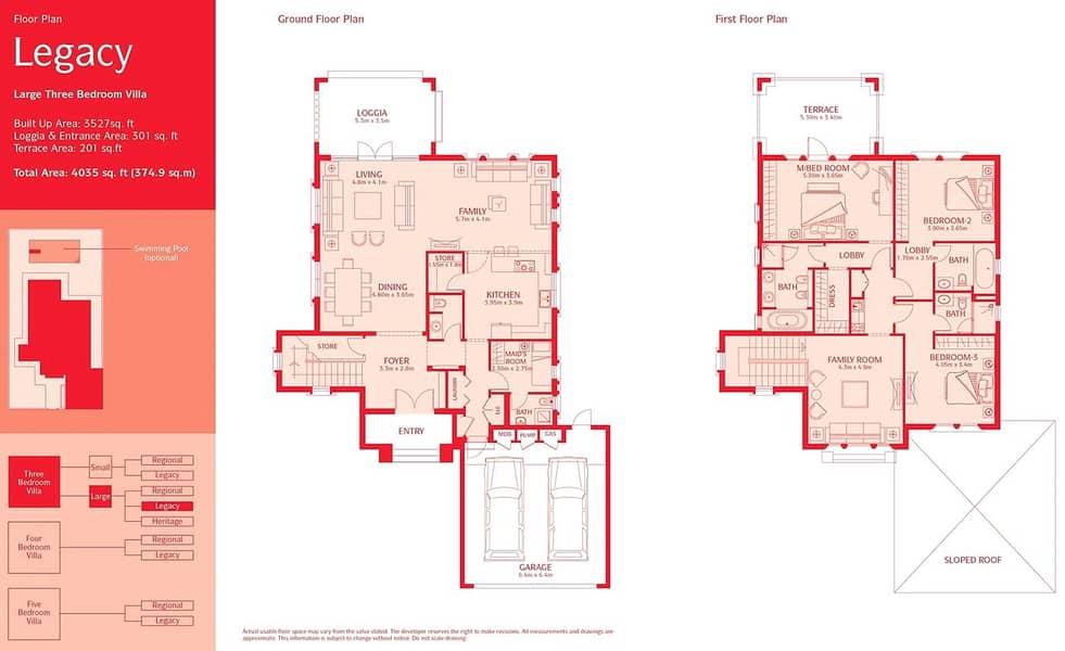 10 9400 SqFt Plot | 3 Bedrooms | District 6