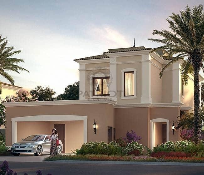 Spacious design for 3 BR plus Maid's Room at Villanova La Quinta