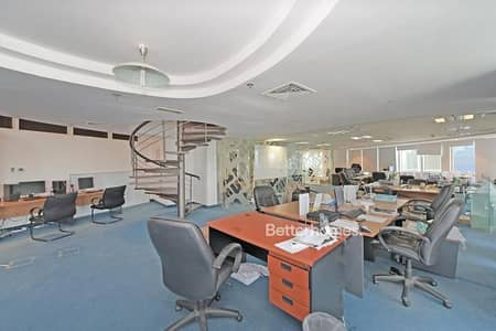Office for Rent in Jumeirah Lake Towers (JLT), Dubai - Fitted I Partitioned I 7 Parking Spaces