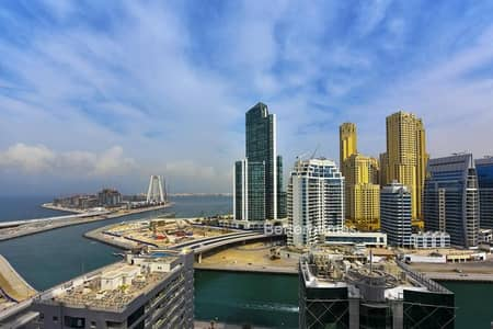 2 Bedroom Apartment for Sale in Dubai Marina, Dubai - Marina View with Maids and  Balcony in KG Tower