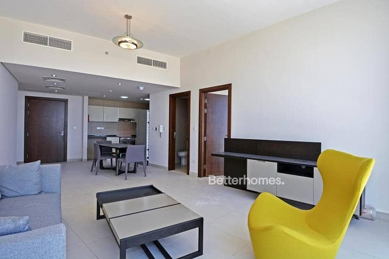 1 bedroom furnished sea view Hilliana tower