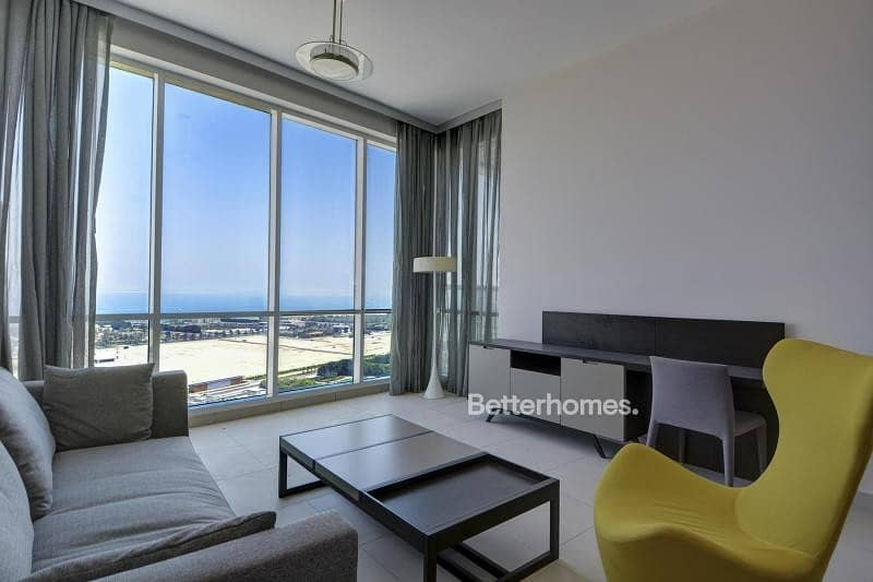2 Low floor - furnished - sea view - exclusive