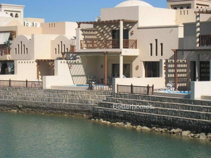 2 Furnished |Island Chalet |The Cove at RAK