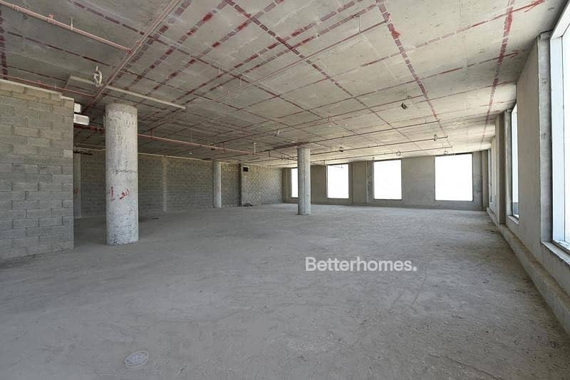 13 Shell and Core Office I For Rent I Dubai Hills