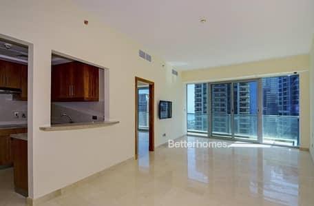 1 Bedroom Flat for Sale in Dubai Marina, Dubai - Mid floor| one bed plus study | tenanted