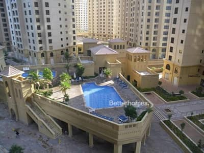 Studio for Sale in Jumeirah Beach Residence (JBR), Dubai - Rented | Low Floor | Pool View