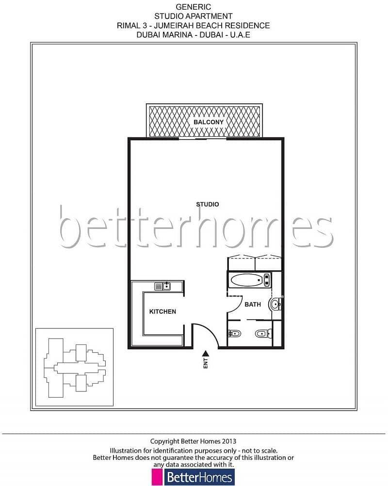 13 Rented | Low Floor | Pool View