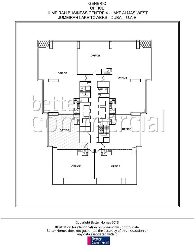 12 Partitioned | Fit-out in process | JBC 4
