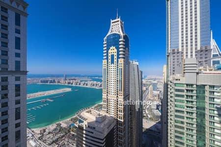 فلیٹ 3 غرفة نوم للبيع في دبي مارينا، دبي - Sea and Marina View | Furnished | VOT