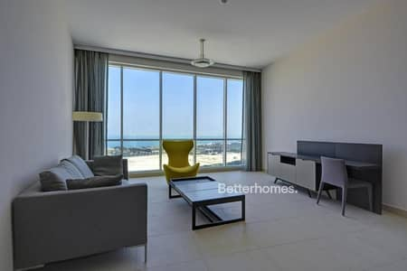 2 bed mid floor full sea view furnished