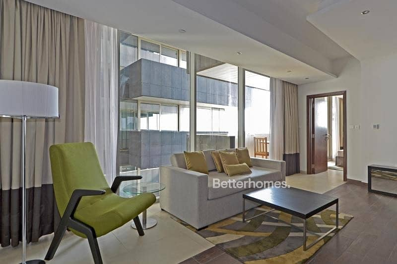 Furnished | Rented Until March | Balcony