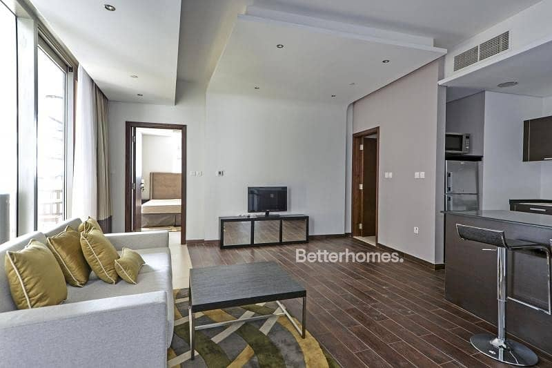 2 Furnished | Rented Until March | Balcony