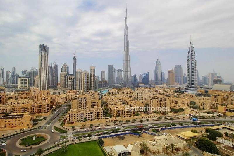 Vacant |  Burj View  |  Two BR + Study |