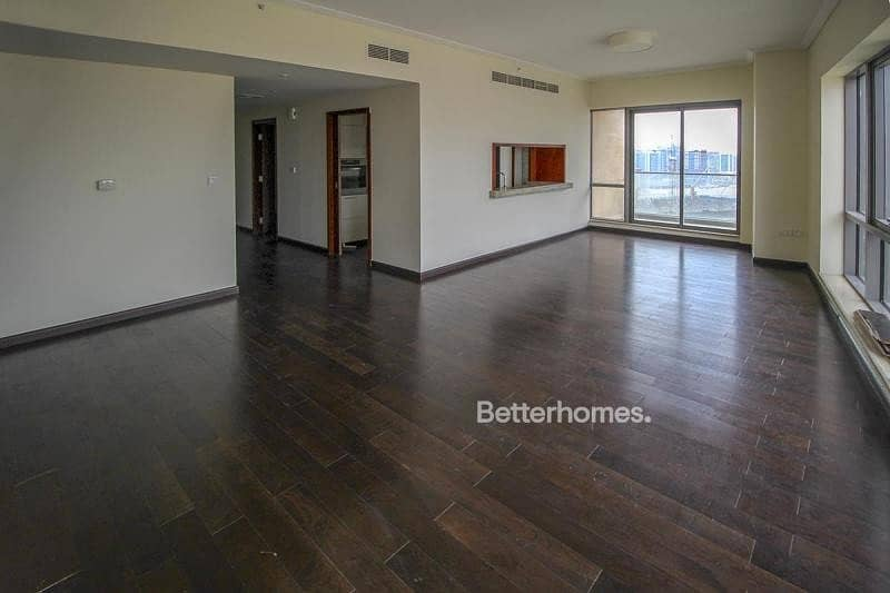 2 Vacant |  Burj View  |  Two BR + Study |