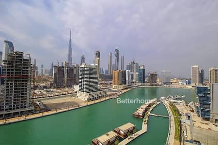 2 Bedroom Apartment for Sale in Business Bay, Dubai - Full Burj &Canal View | Lowest On Market
