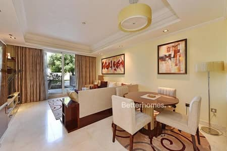 2 Bedroom Flat for Sale in Palm Jumeirah, Dubai - Rear apartment with garden   2+maid room
