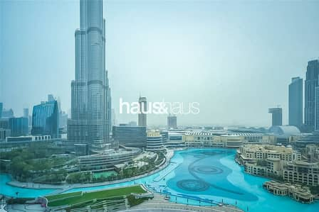 3 Bedroom Flat for Rent in Downtown Dubai, Dubai - Direct Fountain Views | Lavish 3 Bed | Great Deal