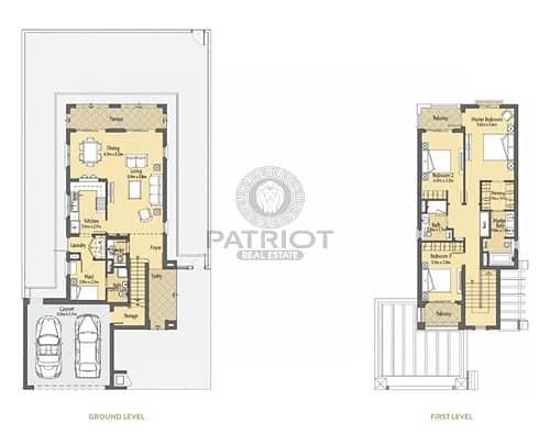 12 Elegant  3 Bed Villa plus Maid's Room at Villanova La Quinta