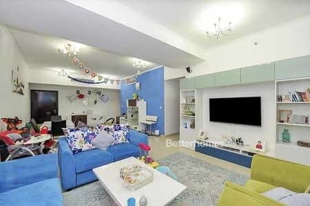 شقة 2 غرفة نوم للبيع في دبي مارينا، دبي - High Floor | Upgraded | Unfurnished | VOT