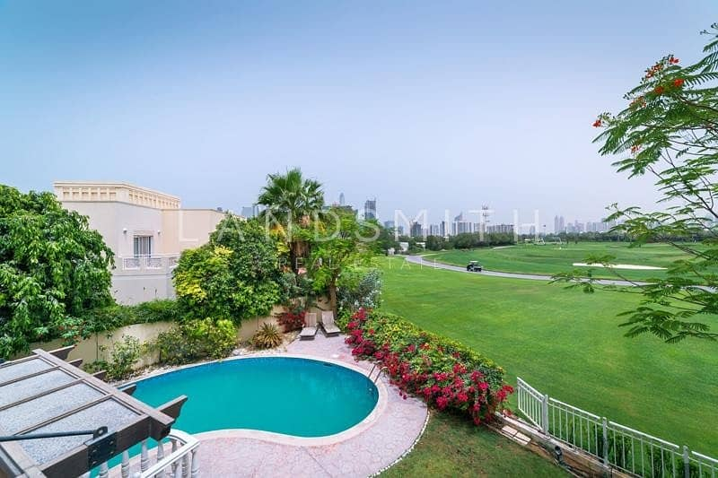 Full Golf Course View Upgraded 6 Bedroom Villa