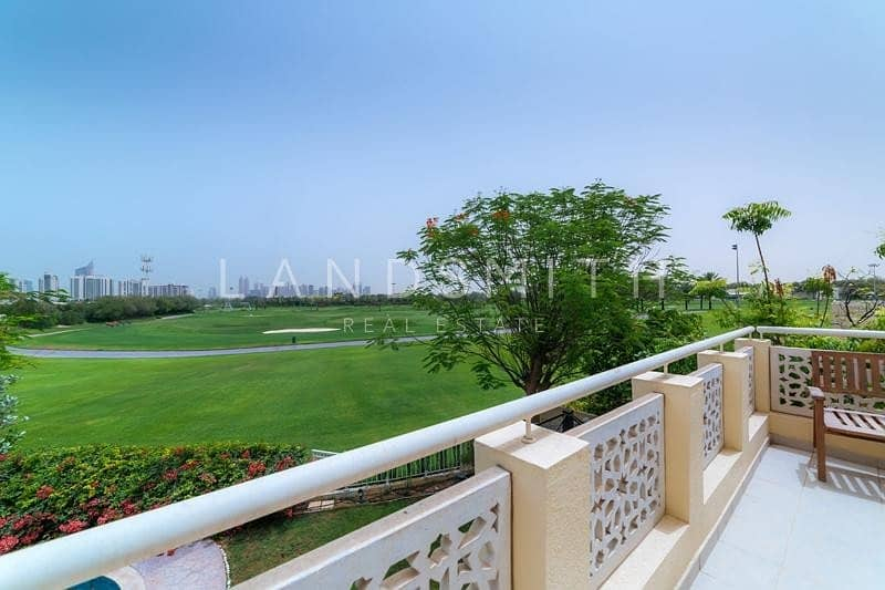 16 Full Golf Course View Upgraded 6 Bedroom Villa