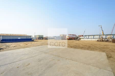 Plot for Rent in Mussafah, Abu Dhabi - Spacious open yard  Mussafah Industrial
