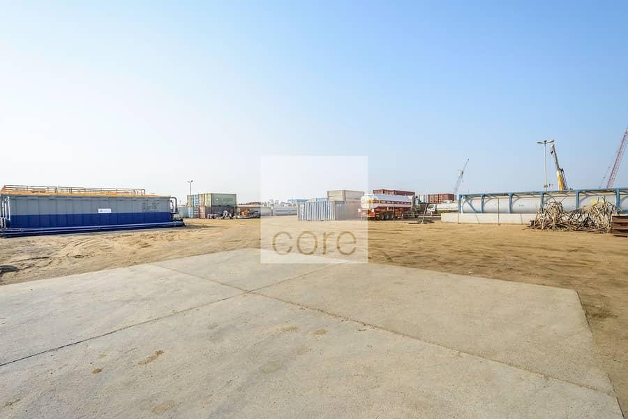 Spacious open yard  Mussafah Industrial