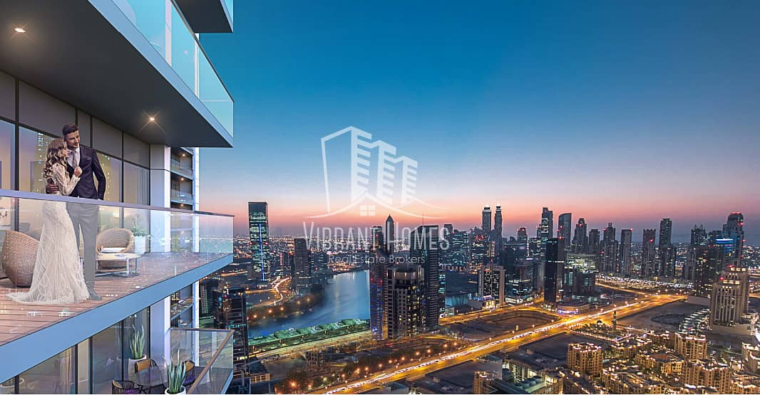 2 LOW PRICED LUXURIOUS 1BR by DAMAC in Business Bay
