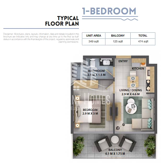 9 LOW PRICED LUXURIOUS 1BR by DAMAC in Business Bay