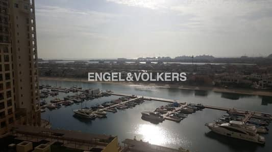 2 Bedroom Flat for Sale in Palm Jumeirah, Dubai - Bldg 03 | Type D| Full Sea & Sunset View