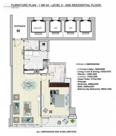 شقة 3 غرفة نوم للايجار في وسط مدينة دبي، دبي - Brand New | 3 Bed plus Maid | Fountain View