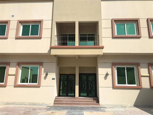 Amazing brand new compound studio flat for rent in Khalifa city a tawtheeq 3000 monthly
