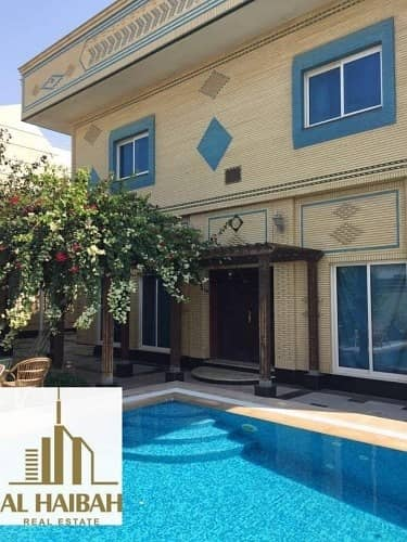 For sell villa in Sharjah Al-Fallaj area with central airconditioning