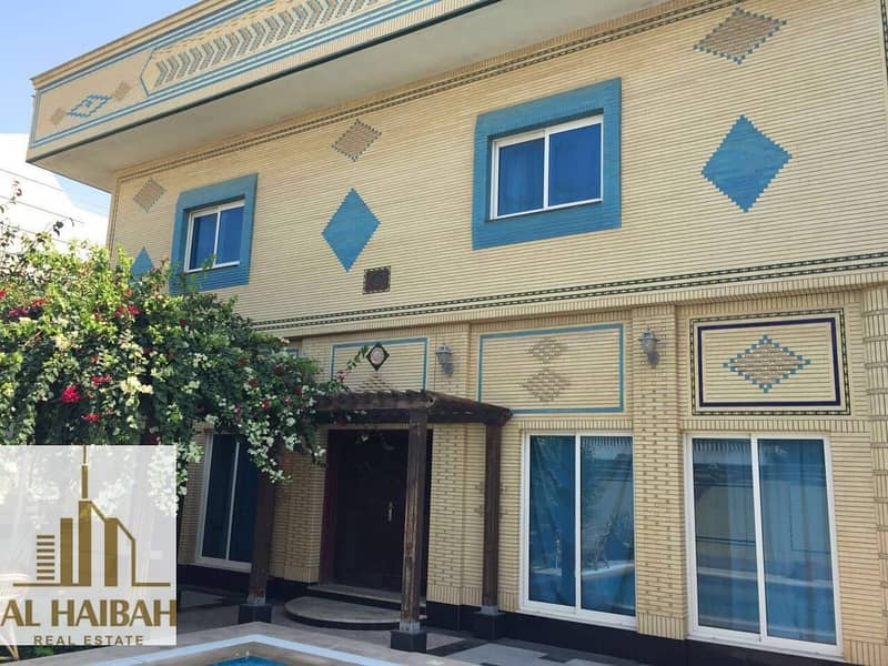 14 For sell villa in Sharjah Al-Fallaj area with central airconditioning