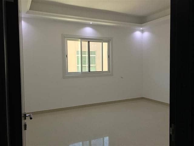 Amazing nice brand new studio flat balcony for rent in Khalifa city a with tawtheeq 3000 monthly