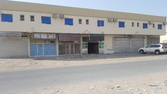 Building for Sale in Al Jurf, Ajman - showroom  were house  labor camp office for sale in al jurf ajman